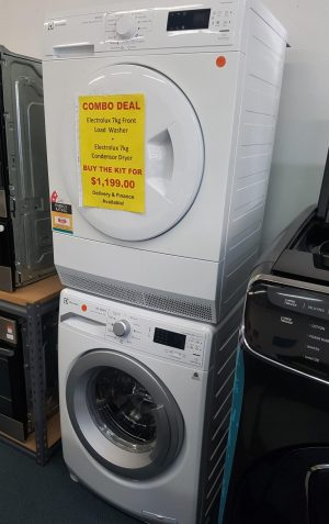 Electrolux Washing Machine and Dryer COMBO