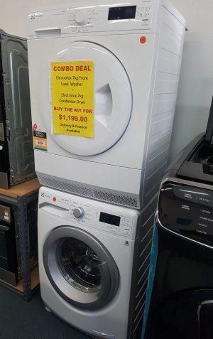 Electrolux Washing Machine and Dryer COMBO