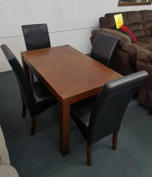 5-Piece Wooden Dining Suite