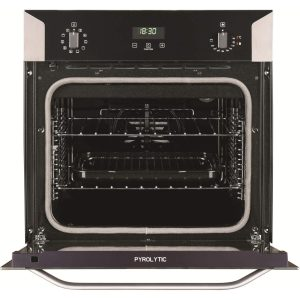 Belling BI 60E PYR Stainless Steel Built-in Single Oven With Pyrolytic Cleaning
