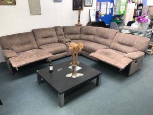 6-Piece Corner Lounge Suite Future Fabric