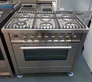 90CM Multi-function 110L Dual Fuel Freestanding Cooker by Ilve