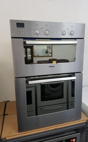 Bosch Multi Function Stainless Steel Double Wall Oven
