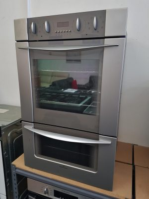 Fisher & Paykel S/Steel Double Wall Oven – BI602