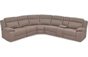 """The """"Vienna"""" 5 Seater Corner Recliner Suite from Ex Display"""