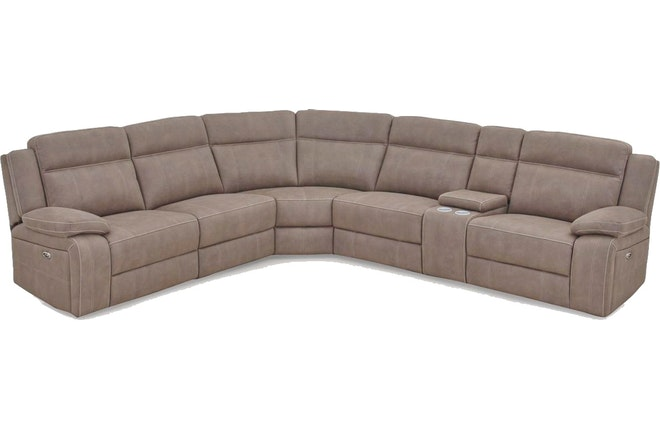 vienna fabric 5 seater corner suite with built in recliners stone 9008632 1 1562199192.jpg