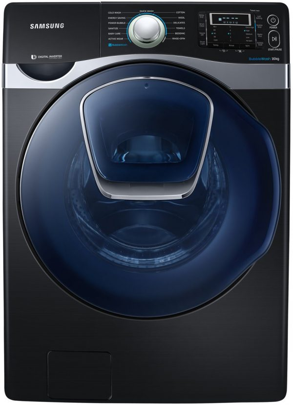 Samsung WF16J9800KV 16kg Front Load Washing Machine Hero Image high.jpeg