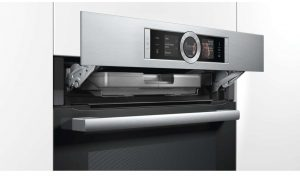 Bosch Series 8 | 60cm Pyrolytic Oven with Steam! (Black) (HRG6767S1A)