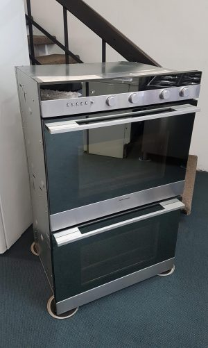 Luxurious 76cm Fisher & Paykel Double Wall Oven (Mirror Face Design)