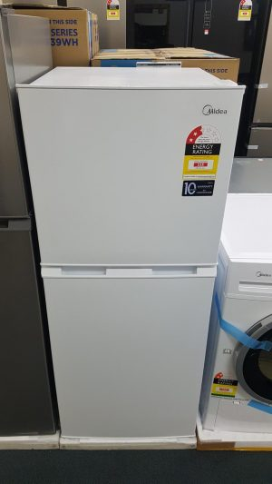 Midea 207L Fridge Freezer White JHTMF207WH