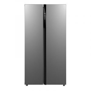 Midea 584L Side by Side Fridge Freezer Stainless Steel
