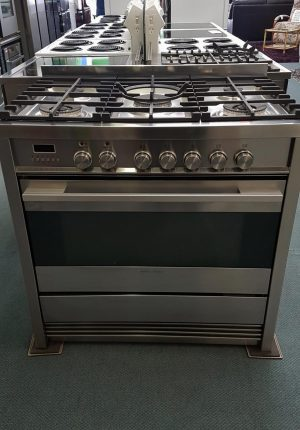 Fisher & Paykel OR90SDBGFPX1 90cm Freestanding Dual Fuel Oven/Stove