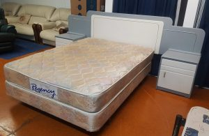Regency Double Bed Base and Mattress