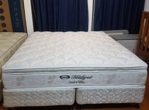 Simmons Desire Elite Beauty Rest King Bed Base and Mattress
