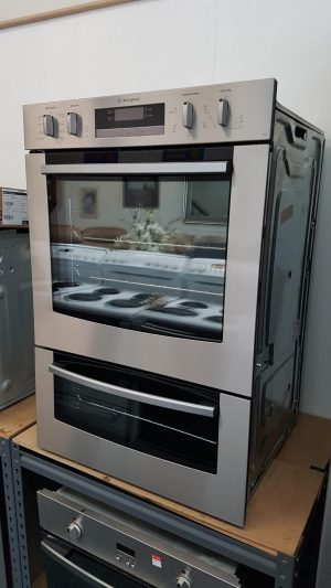 Westinghouse S/Steel PDR790S 60cm Built-In Double Oven