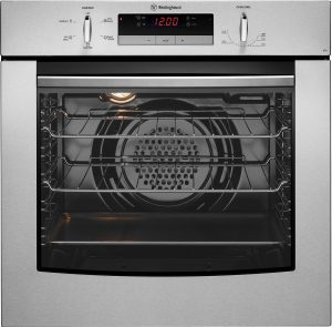 60cm Westinghouse S/Steel Electric Wall Oven POR667S