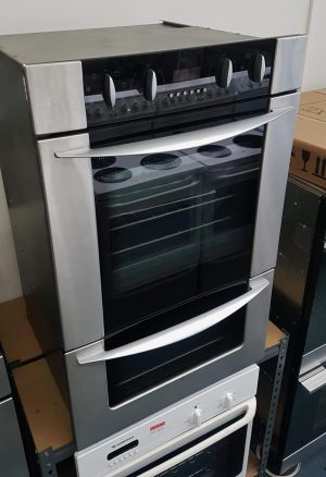 Fisher & Paykel S/Steel Double Oven Black Face – BI602ASE1.5