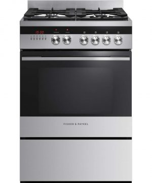 Fisher & Paykel 60cm Freestanding Dual Fuel Cooker OR60SDBGX1