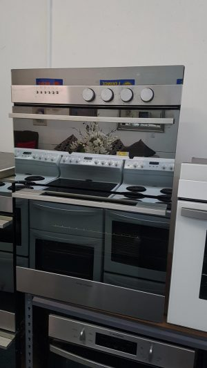 Fisher & Paykel S/Steel Multifunction Double Oven OB60BDEX1