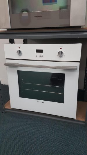 Fisher & Paykel 60cm Wall Oven OB60SCMW4 (White)