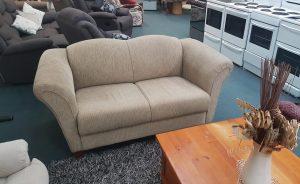 Tan 2 Seater Sofa