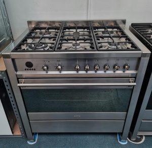 Smeg Stainless Steel CS19-5 90cm Range Cooker