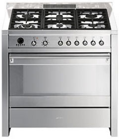 Smeg Stainless Steel CS19-5 90cm Range Cooker