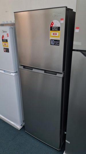Midea 239L Fridge Freezer Stainless Steel