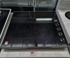 Whirlpool 60cm Cooktop, Glass Ceramic, Electric, 6AKM613/IX