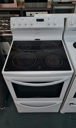 Westinghouse 60cm Jupiter Ceramic Free Standing Oven – WLE644WA
