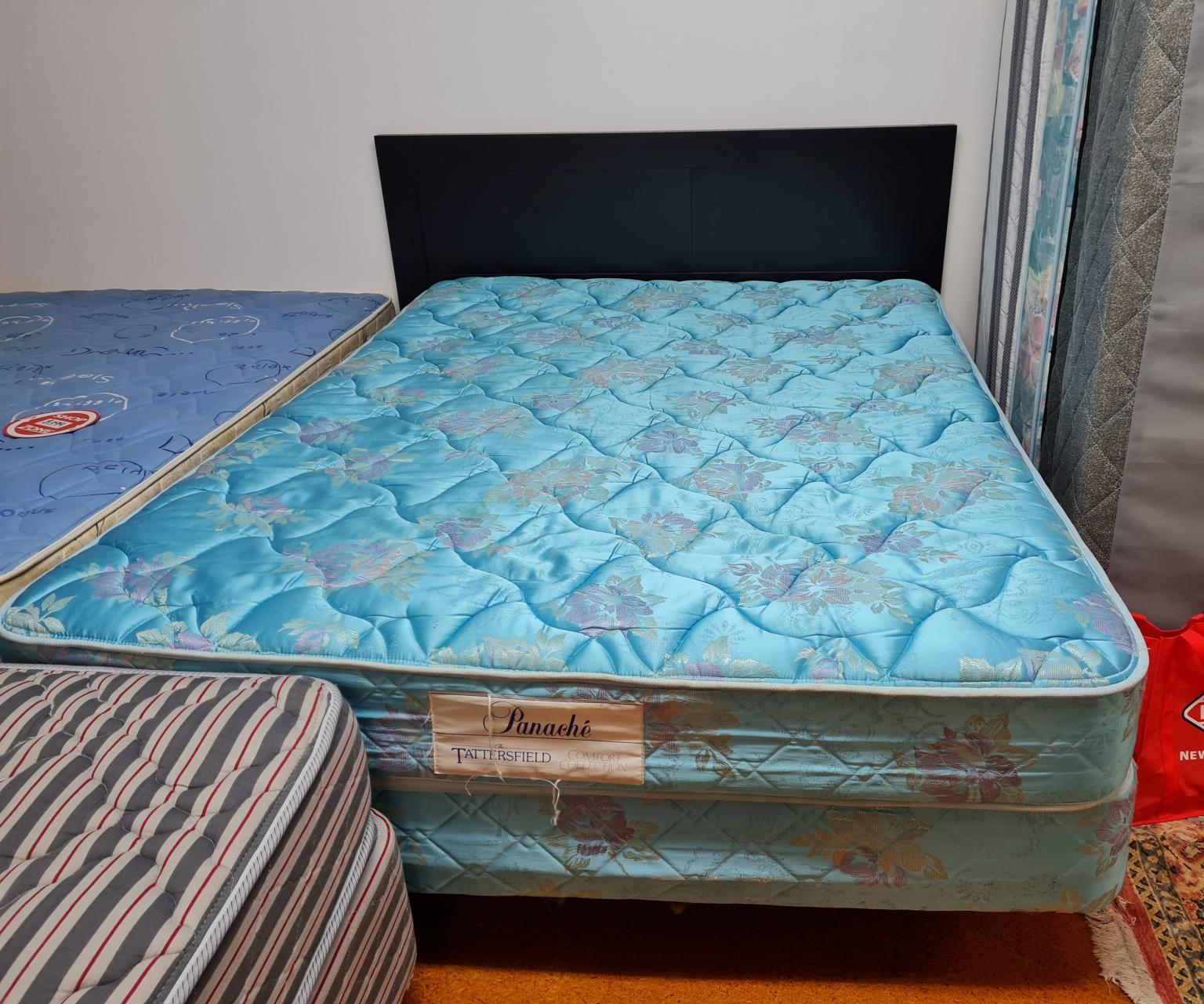Tattersfield Panache Queen Bed Base and Mattress