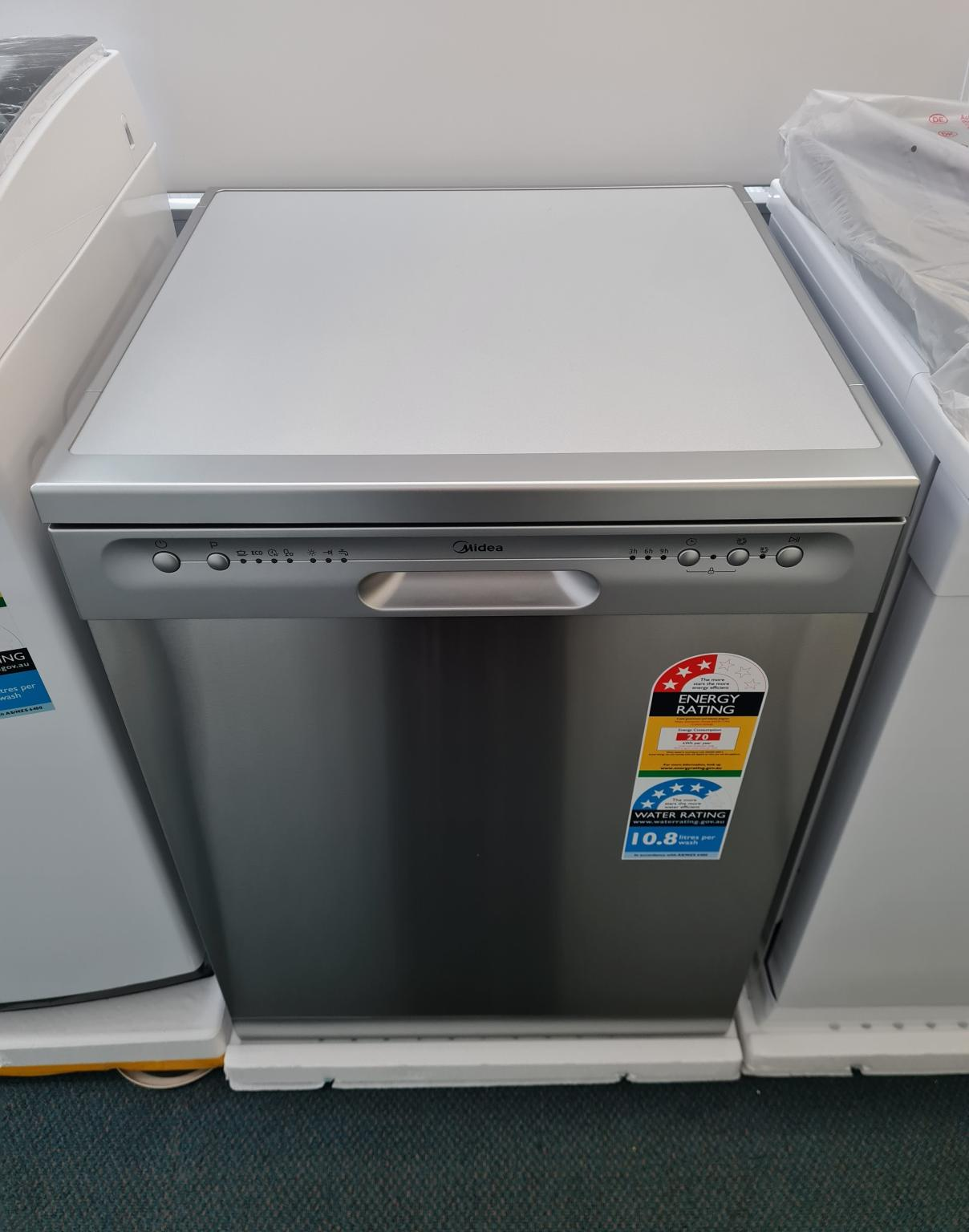 Brand New Midea 12 Place Setting Dishwasher Stainless Steel JHDW123FS