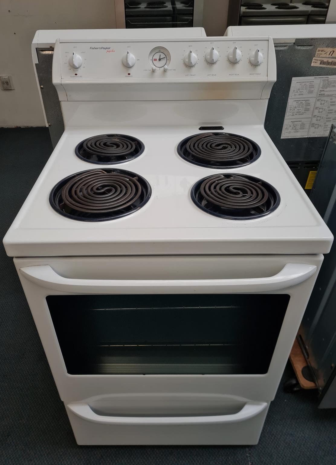 Fisher & Paykel Paprika Stove