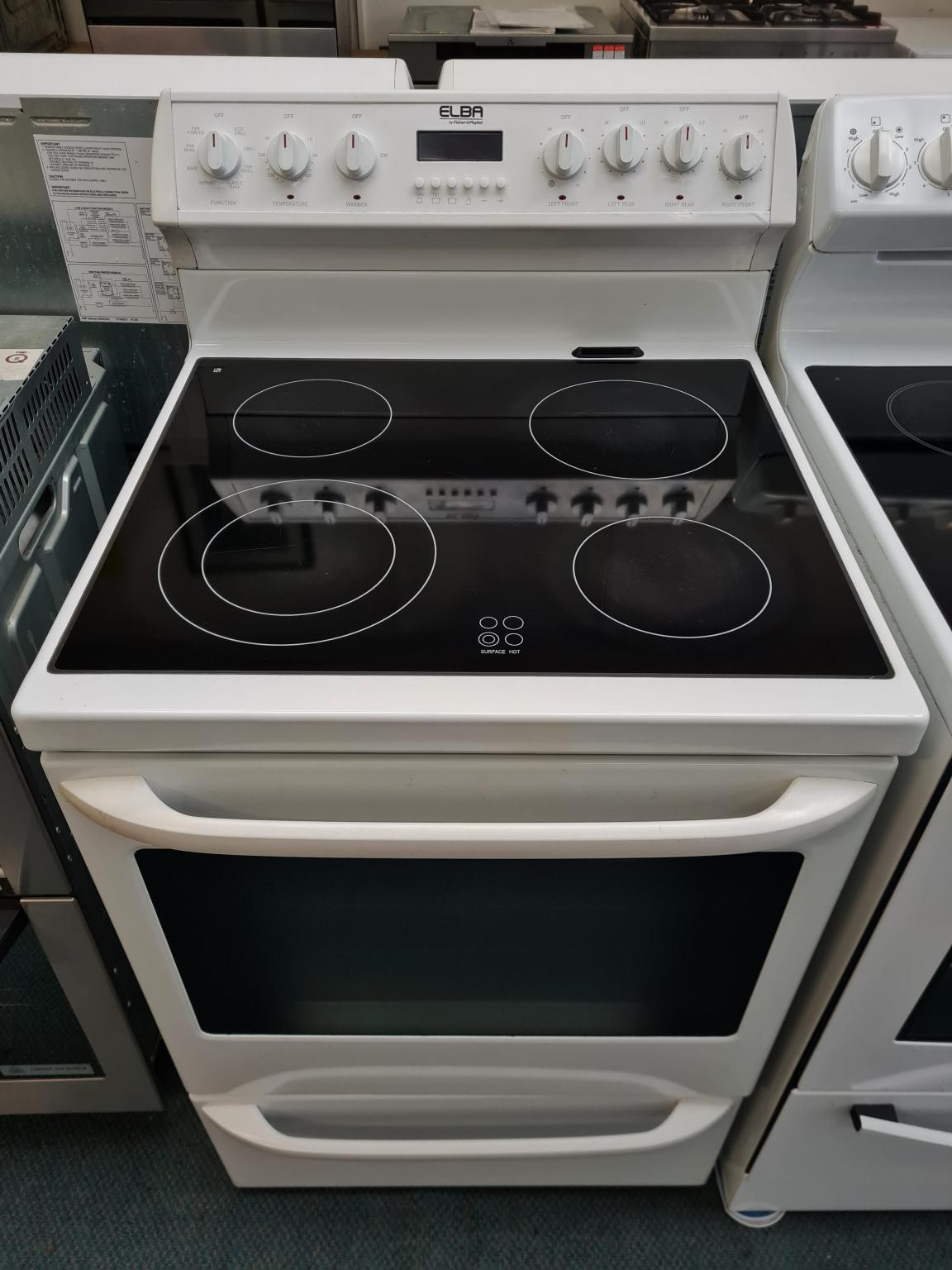 Fisher & Paykel Elba S8 Multi-Function Ceramic Stove W2