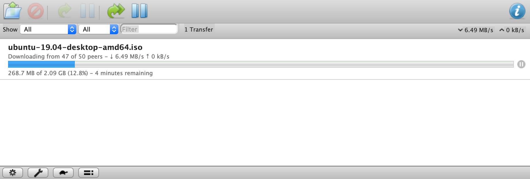Transmission Web UI