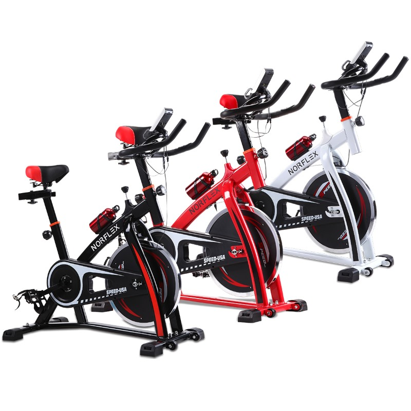 Home Exercise Equipment Bikes: Norflex Fitness Home Gym Spin Bike SPX200 3 Colours
