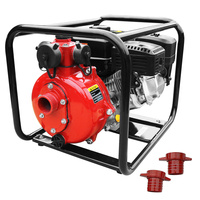 Heavy Duty 3 Outlet Fire Fighting Water Pump 208cc