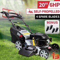 Petrol Self Propelled Lawn Mower 200cc 20in