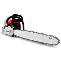 Single Cylinder 2 Stroke Petrol Chainsaw 58cc 20in