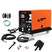 Campmark Heavy Duty Gas or Gasless MIG Welder 180A