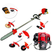 Honda Gx35 3-in-1 Petrol Pole Garden Trimmer Kit