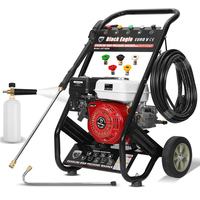 Petrol High Pressure Washer w/ 20m Hose 4100PSI 8HP