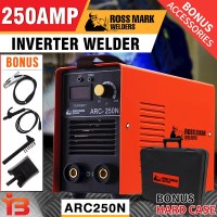 Campmark DC Inverter Welder Arc in Orange 250 Amp