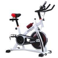 Norflex Fitness Home Gym Spin Bike in White SPX200