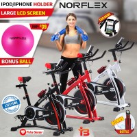 Norflex Fitness Home Gym Spin Bike SPX200 3 Colours