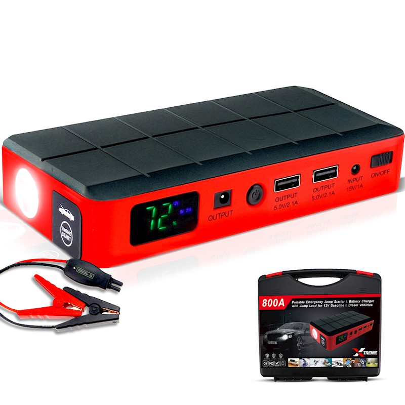 Xtreme portable 12v Car Jump Starter Battery Power Bank Charger Booster  Truck
