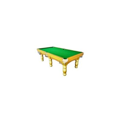 Billiards Pool Table + Poker & Table Tennis Top 8FT