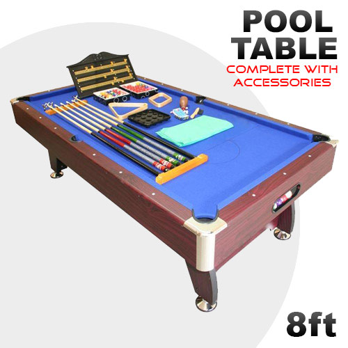 8ft mdf pool billiards snooker table accessories buy game tables - Billiard table accessories ...