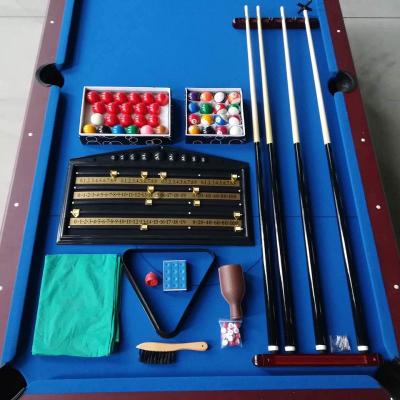 MDF Full Pool Table With Table Tennis Table Top 8FT. H M S Remaining