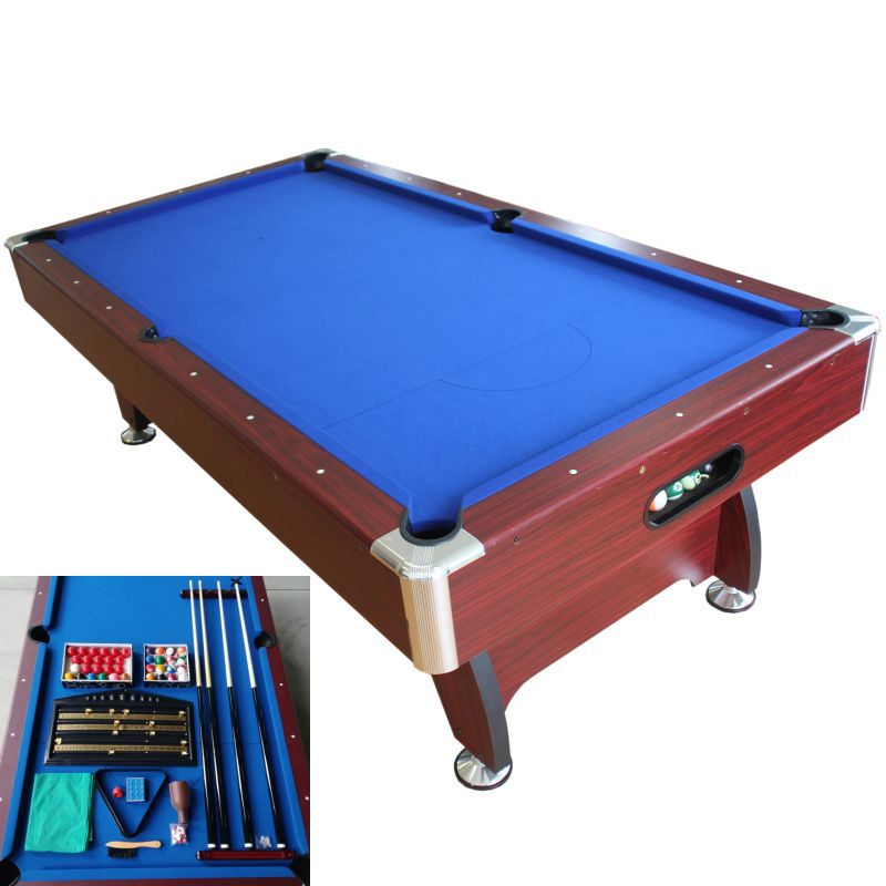 8ft mdf pool billiards snooker table accessories buy pool tables - Billiard table accessories ...